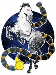 Скорпион рожденный в год коня
