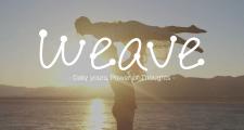 Реклама для приложения Weave