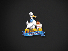 """Логотип мини-пекарни """"Гусильда"""""""