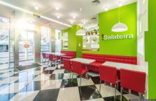 Интерьерная фотосъемка кафе Salateira