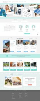 Вертска туристического сайта-блога