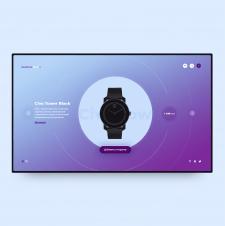 Сайт для магазина часов