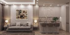 Визуализация квартиры 60м2