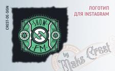 Логотип для Интсаграм