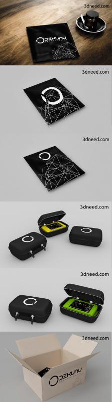 Дизайн, 3d моделирование и визуализация упаковки