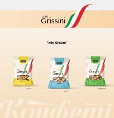 Конфеті - mini Grissini