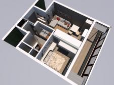 Интерьер квартиры (29,9 кв.м.)