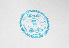 Яркий логотип для кофе с собой