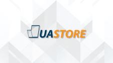 Логотип UASTORE. Продажа гаджетов