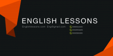 EnglishLessons Business Card