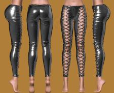 pants, одежда выполнена в Zbrush