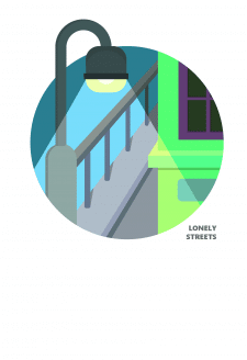 lonely street lights logo