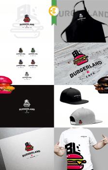 Логотип для Burgerland