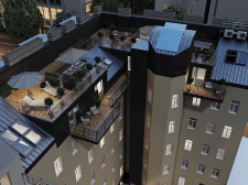 Тераси на даху