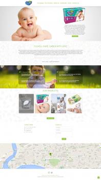 Сайт представительства компании FLOVELL