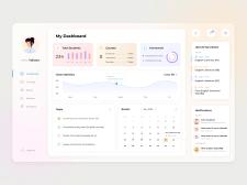 Dashboard for teachers | Дашборд для преподавателей