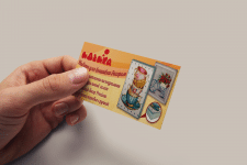 "Business card for company ""Идейка"""