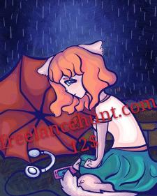 """""""Little sad kitty"""""""