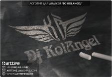 """Логотип для диджея """"KolAngel"""""""