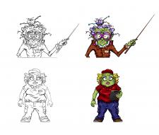 Персонажі для анімації для Too Tall Productions