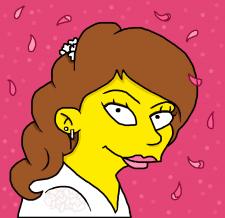 Автопортрет в стиле Симпсон