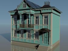 Деревянный дом 19-го века