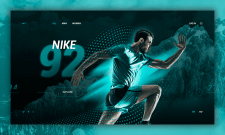 Редизайн для сайта Nike