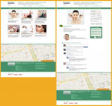 Дизайн сайту центру косметології DermaVita