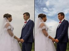 Обробка весільних фото