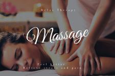 Сайт на тему массажа