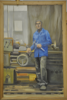 Портрет мастера