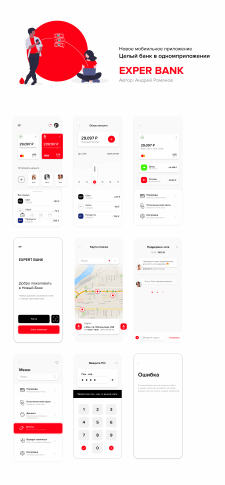 Дизайн мобильного приложения мобильный банк