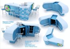 Стол-бар в офис, тематический