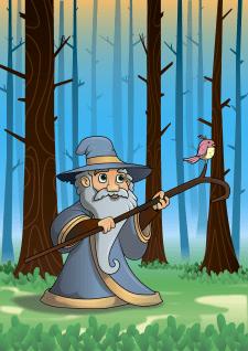 Волшебник вектор