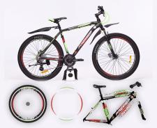 дизайн наклейки на велосипед