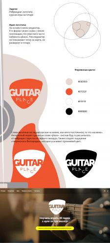 Логотип Guitar place