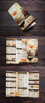 Буклет Суши меню