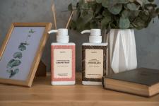 Этикетки для шампуней Марта