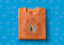 Лого на футболке для детского книжного