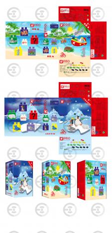 Дизайн упаковки для детского Лего