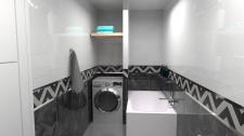 Дизайн и визуализация ванной комнаты ver. 2