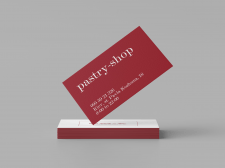 "Business cards for the ""Veklenko"" brand"