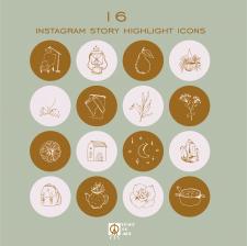 Иконки для сториз инстаграм