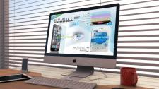 Интернет-баннер для рекламы стекла  к IPhone