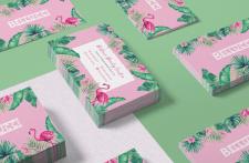 Разработка дизайна визитки для бьюти-центра