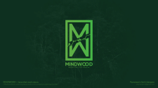 Logo design for mindwood company