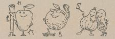 Фрукты-персонажи