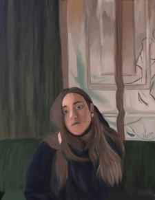 Портретная иллюстрация