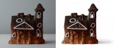 Обтравка - керамический светильник
