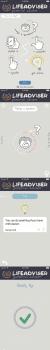 Life adviser mobile app